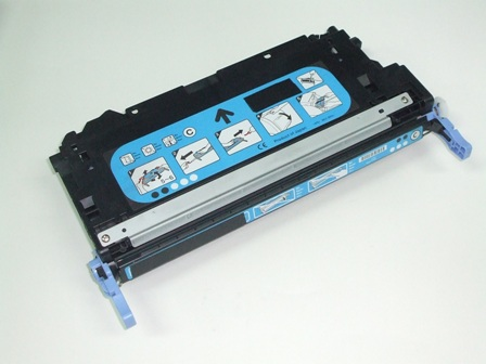 Toner Reciclado HP Q7581A Cian (6000 copias)