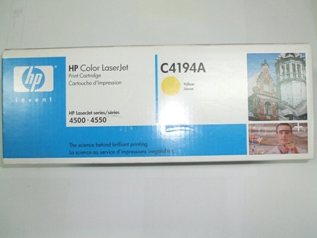 Toner Original HP C4194A Amarillo