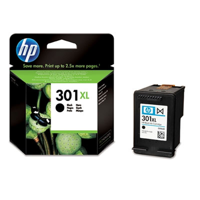 Cartucho HP 301XL Negro