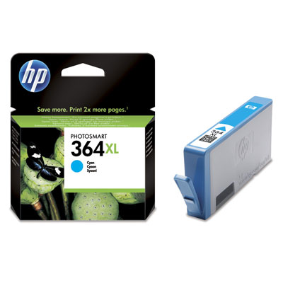 Cartucho HP 364XL Cian