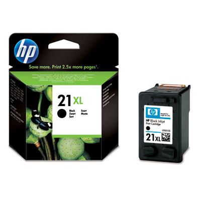 Cartucho HP 21XL