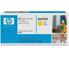 Toner original HP Q6002A Amarillo